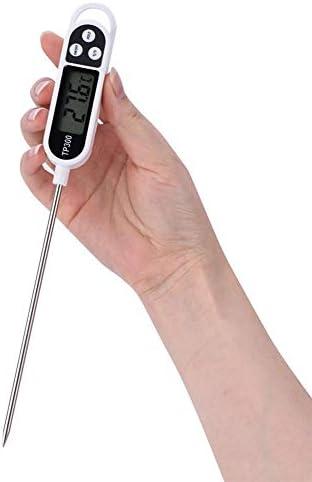 Jadpes Kochen des Thermometers, 1Pc LCD Digital, das Nahrungsmittelprüfspitzen-Thermometer-Küche BBQ-Fleischtemperatur-Maß kocht Neu