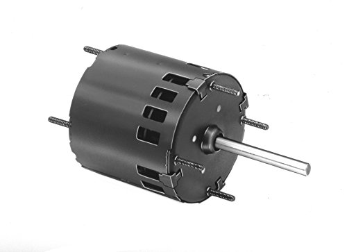 Fasco D130 3.3'' Frame Open Ventilated Shaded Pole Self Cooled Motor with Sleeve Bearing, 1/40HP, 1500rpm, 115V, 60Hz, 1 amps, CW Rotation by Fasco