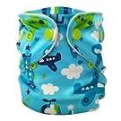 FuzziBunz Perfect Size Pocket Diaper - XS - FlyBoy