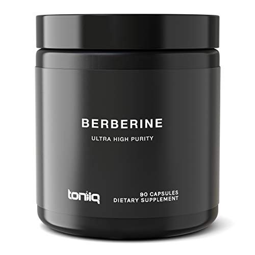 Ultra High Strength NextGen Berberine Extract - 82:1 Concentrated Extract - 97% Standardized Purity at 82x the Potency - Wild Harvested in India - The Strongest Berberine Available - 90 Veggie Capsule