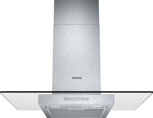 Siemens LC77GA532 - Campana (Recirculación, 680 m³/h, 59 Db, Montado en pared, LED, Acero inoxidable): Amazon.es: Hogar