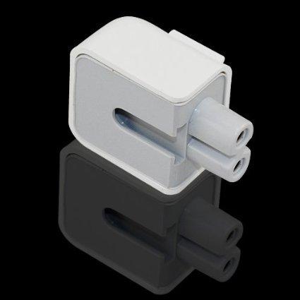 HIOTECH AC Power Plug Adapter [Inflaming Retarding Material] Duck Head US Standard Plug for MacBook Power Adapter