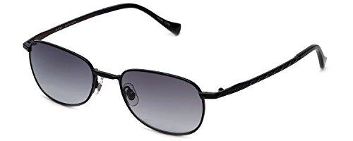 Lucky Brand Beatnik Fashion Sunglasses BEATNIK/BLK/51/19: Black/Gray - Beatnik Sunglasses