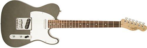 Squier by Fender Affinity Telecaster Beginner Electric Guitar - Rosewood Fingerboard, Gun Metal Gray (Kids Electric Guitar Fender)