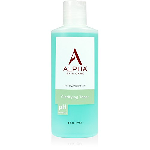 Alpha Skin Care - Clarifying Toner, Gentle Cleanser for Normal to Oily Skin| Fragrance-Free and Paraben-Free| 6-Ounce (packaging may vary) ()