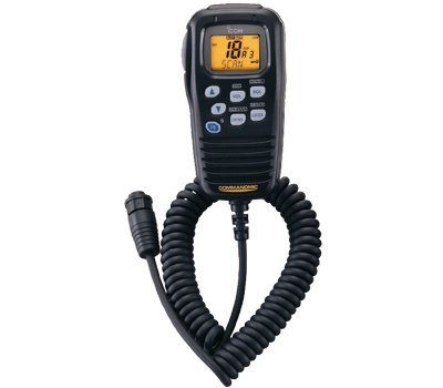 Icom HM-157B CommandMic Remote Marine Microphone (Black)