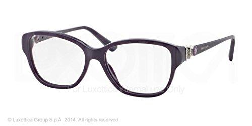 Bulgari Montures de lunettes 4089B Pour Femme Black, 52mm 5320: Dark Violet