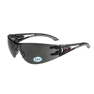 Radians Optima IQ - IQUITY Anti-Fog Smoke Lens Safety Eyewear (12 Pairs)