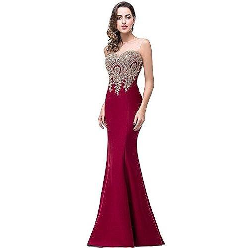 Red Prom Dresses 2016 Long: Amazon.com