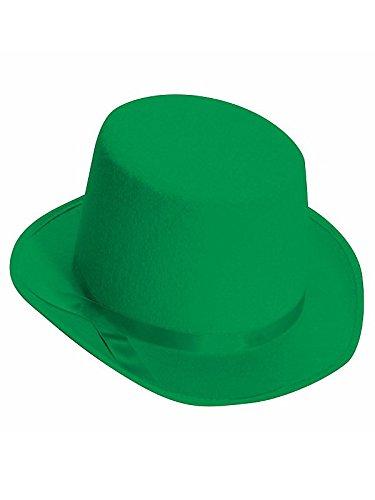 Dark Green Top Hat (Forum Novelties Green Deluxe Top)