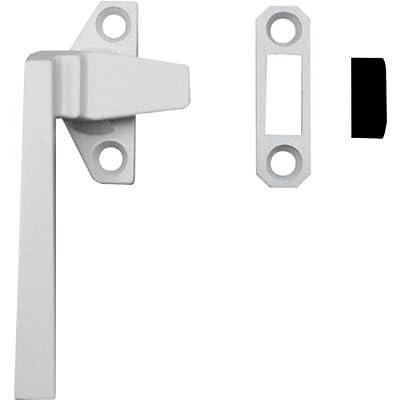 Prime-Line Products H 3820 Casement Locking Handle, Left Hand, Off-Set Base, White