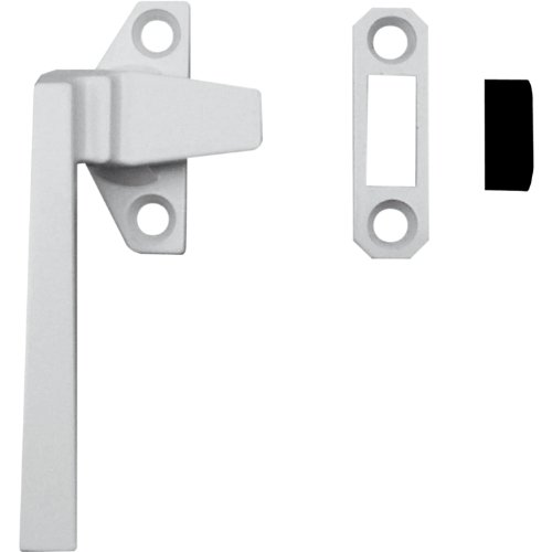 Prime-Line Products H 3820 Casement Locking Handle, Left Hand, Off-Set Base, White