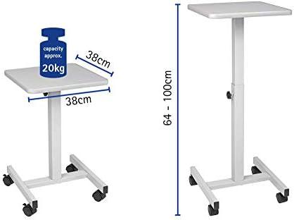 Maul 9331082 mesa proyector OHP útil, flexible, de color gris ...
