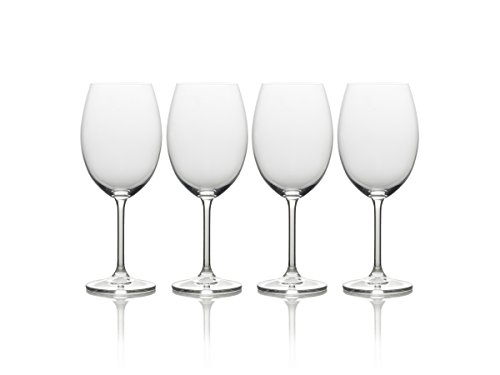 - Mikasa Julie Bordeaux Wine Glass, 21.5-Ounce, Set of 4