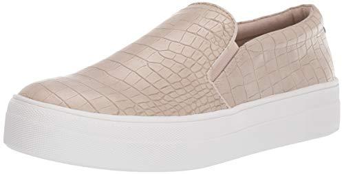 Steve Madden Women's Gills Shoe, Taupe Crocodile, 8 M US