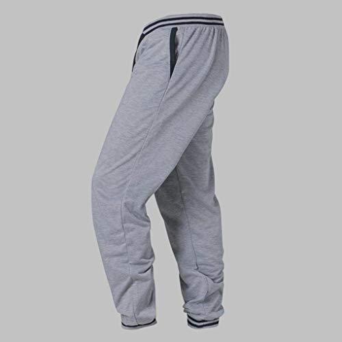 Tasche Qk Sportivi Pantaloni Ragazzo Grau Da E Uomo lannister Elastici Con Lunghi rqrAz