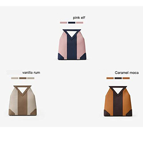 Minority Caramel Caramel Diagonal Retro Bolso Simple Moca Moca Hit Design Color Color Geometry Mujer S7nggwFxqd