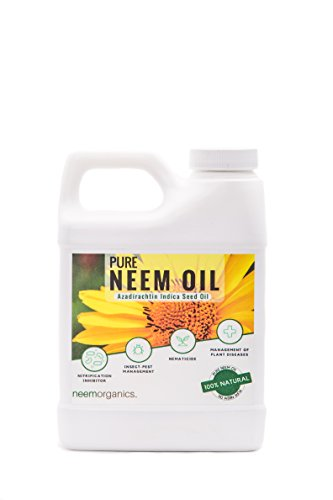 Neem Organics Azadirachtin Pure Neem Oil, 16 oz.