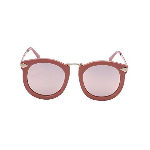 libre Vintage sol Ocio gafas Protección Pink de Rosa al UV estrella Me polarizadas UV400 Gafas Personalidad protección Nueva conducción Protección de solar de Mujeres sol Excursionista Reflective de Regalo Negro aire X48wxX