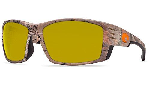 Direct CZ01OBMP Costa Del Mar Cortez Sunglasses Blackout Blue Mirror 580 Plastic Lens Pro-Motion Distributing