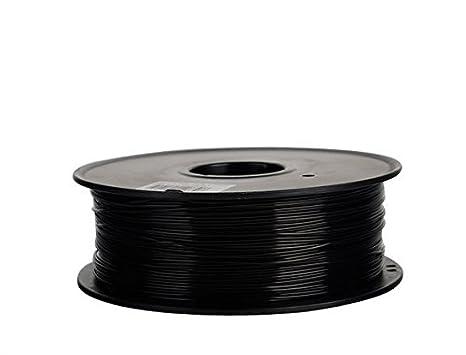 Filamento 3D Flexible (elastómero termoplástico) Negro 1.75 mm ...