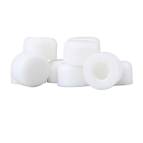 Wall Tip (Premium Silicone White Door Stopper Tips 1/4