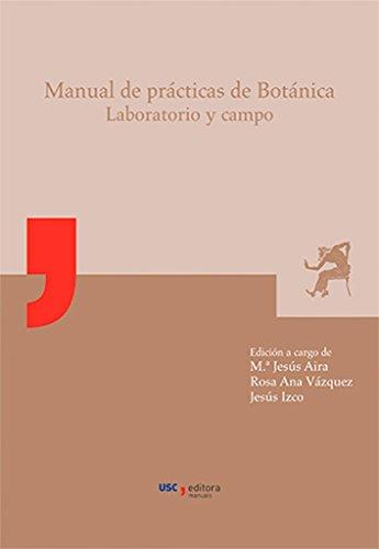 MU/16-Manual de prácticas de Botánica: Laboratorio y campo