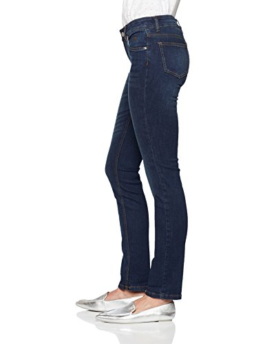 Carrie Optik Dark Vaqueros In Denim Straight Mujer Blue Tom 1502 para Tailor Clean Cleaner Jeans Azul Stone Aw7XnnEBq