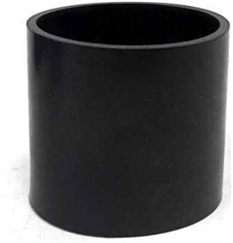 """BLACK 4/""""-4/"""" AIR INTAKE//PIPING RUBBER COUPLER FOR DODGE"""