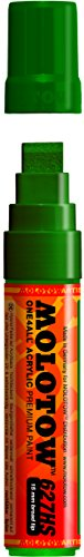Molotow ONE4ALL Acrylic Paint Marker, 15mm, Mister Green, 1 Each (627.209)