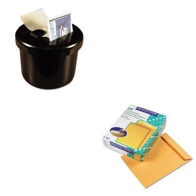 KITLEE40100QUA41667 - Value Kit - Quality Park Catalog Envelope (QUA41667) and Lee Ultimate Stamp Dispenser (LEE40100)