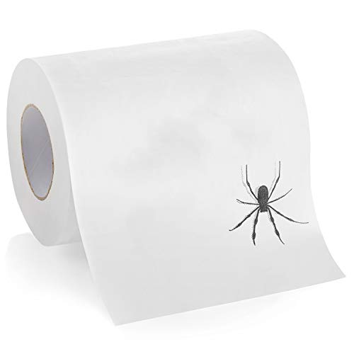 Halloween Scary Pranks Ideas (Laila and Lainey Spider Toilet Paper - Prank, Practical Joke, or Gag Gift - Halloween Decoration or White Elephant Gift Idea)