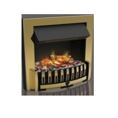 Dimplex Danville OptiMyst Smoke & Flame effect Brass Model DNV20BR Inset Fire Place by Dimplex (Inset Fireplace)