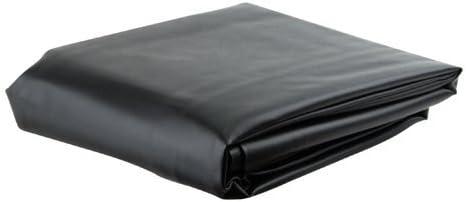 ブラック7 ' Heavy Duty Leatheretteプールテーブルカバー – 7 footビリヤードテーブルカバー