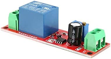 DC 12V NE555 Monostable Delay Relay Circuit Conduction