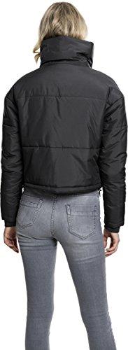 7 black Jacket High Donna Neck Classics Oversized Giacca Ladies Nero Urban qaxRvFwzx