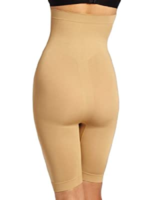 Heavenly Shapewear Women's Seamless High-Waisted Slimming Short