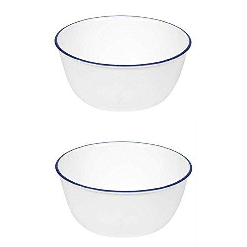 - Corelle Livingware 28-Ounce Super Soup/Cereal Bowl, Navy Blue (3 Bowls) (1)