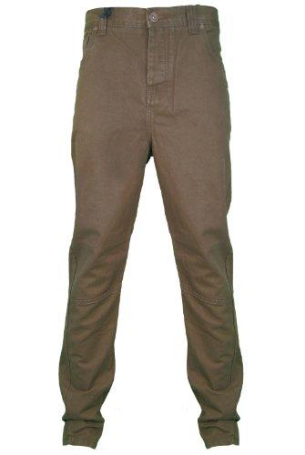 Crosshatch - Jeans -  Homme -  Beige - Beige - petit