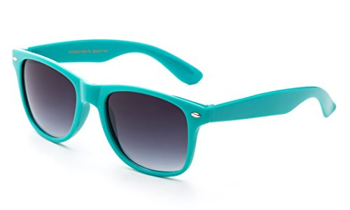 3 FOR $12 Newbee Fashion - 80s Classic Blue Brothers Horn Rimmed Style Vintage Retro Sunglasses Lots of Popular Colors to Choose!