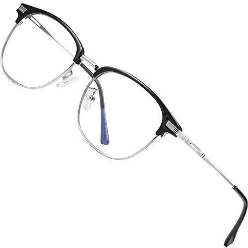 Reading glasses Lunettes de Lecture Anti-lumi/ère Bleue pour Hommes Ultra-l/ég/ères Classiques et Confortables pour Seniors