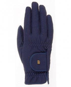 Roeckl Roeck-Grip Unisex Gloves 7 Navy
