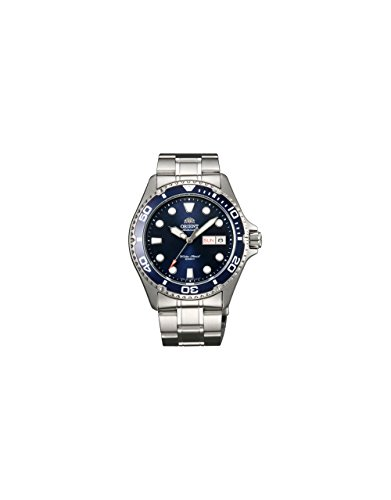 Orient Men's 'Ray II' Japanese Automatic Stainless Steel Diving Watch, Color:Silver-Toned (Model: FAA02005D9)