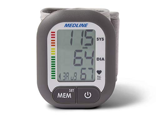 Medline Digital Pressure Batteries Included