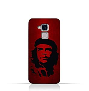 Huawei Honor 5c TPU Silicone Case with Che Guevara Silhouette Pattern