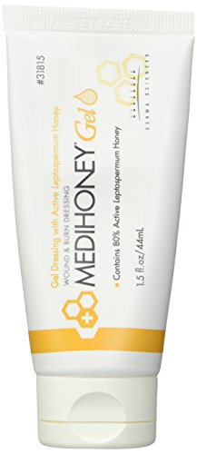 - Derma Sciences 31815 Medihoney Dressing Gel, 1.5 oz. Tube