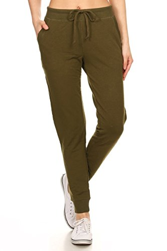 Green Ankle Pants - 8