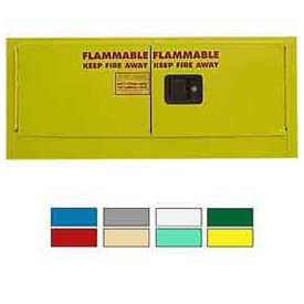 12-Gallon Manual Close, Stackable Flammable Cabinet ()