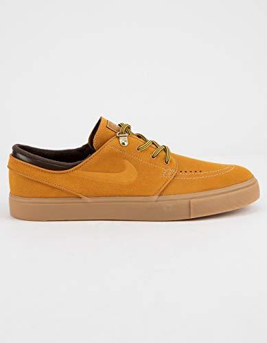 Brown Nike Sb - Nike Sb Zoom Janoski PRM Mens Ar1575-779 Size 12