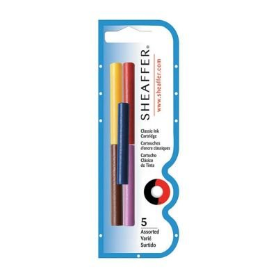 Sheaffer-Refills-Multicolor-5-Pack-Fountain-Pen-Cartridge-SH-96400